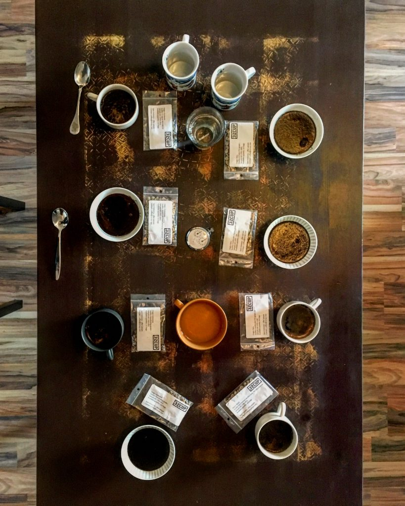 cupping greenleafcoffee