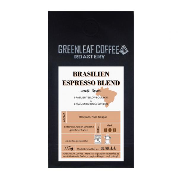 Espresso Blend - GREENLEAF COFFEE