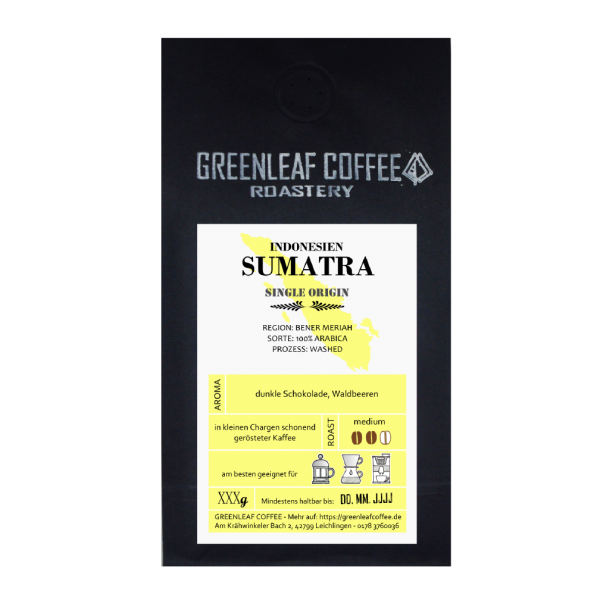 Sumatra GREENLEAF COFFEE