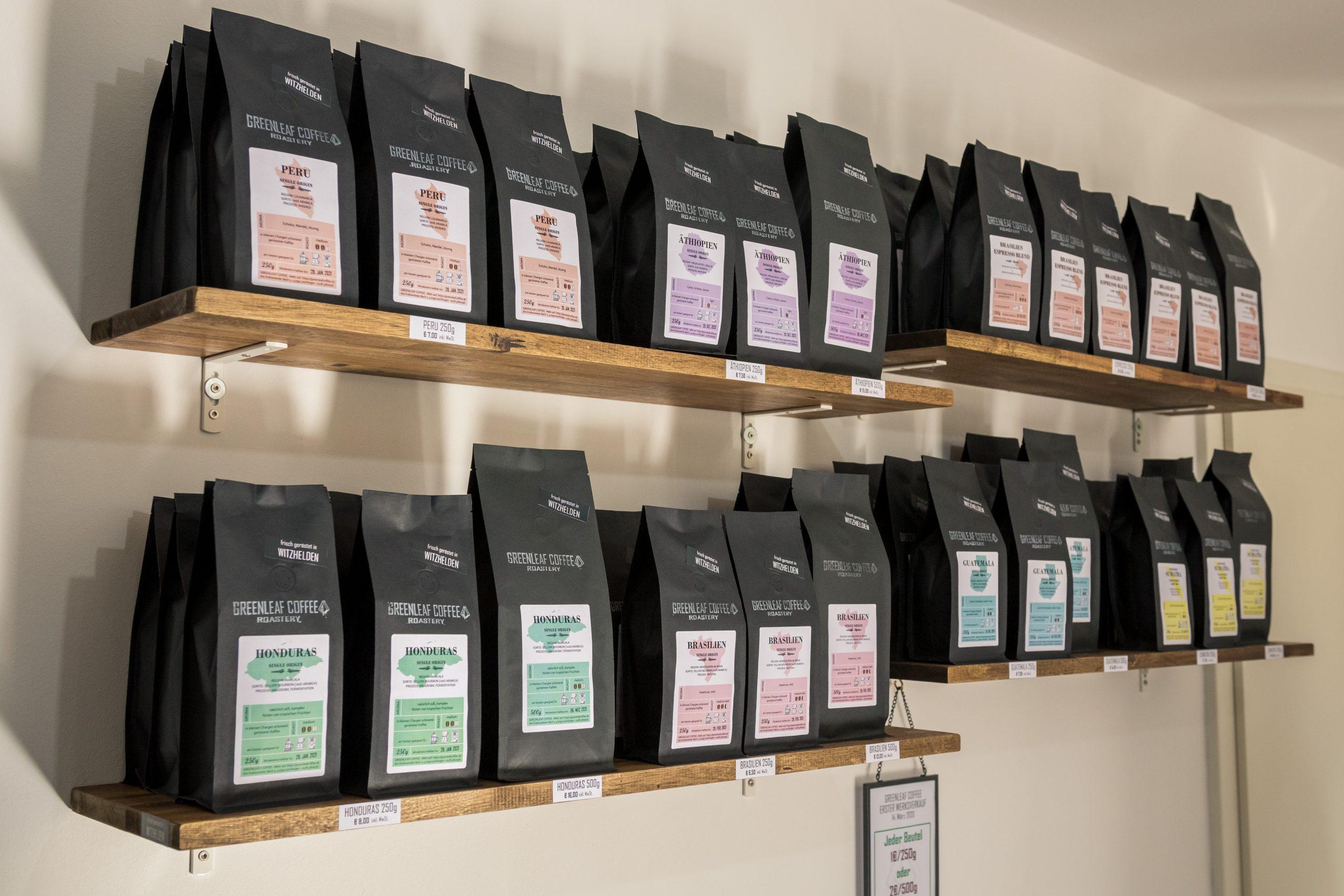 Werksverkauf Greenleaf Coffee Witzhelden